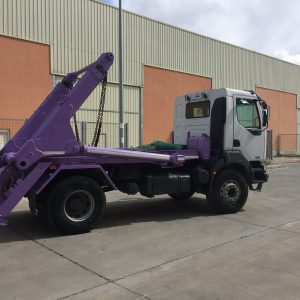 Tocab camion contenedores baja